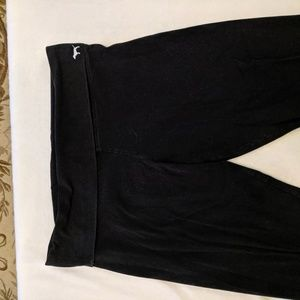 Victoria secret fold over black leggings
